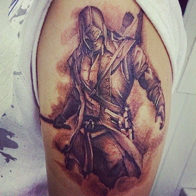 Rebellious Assassin Tattoos